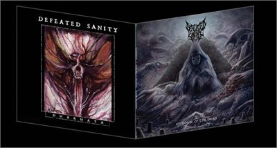 Defeated Sanity - Disposal Of The Dead // Dharmata (2Xlp)